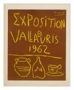 PABLO PICASSO | EXPOSITION DE VALLAURIS 1962 (B. 1299; BA. 1335)