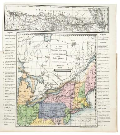View 2. Thumbnail of Lot 225. Milbert, Jacques-Gérard |  An outstanding series of American views.