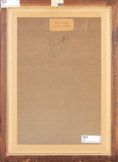 View 5. Thumbnail of Lot 1028. Mai Trung Thu 梅忠恕   Lady Writing a Poem 作詩的仕女.