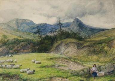 WILLIAM DYCE, R.A., H.R.S.A. | Glen Rosa, Isle of Arran