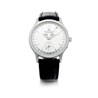 View 1. Thumbnail of Lot 242. REFERENCE 140.640.872 MASTER CONTROL A PLATINUM AUTOMATIC TRIPLE CALENDAR WRISTWATCH, CIRCA 1996.