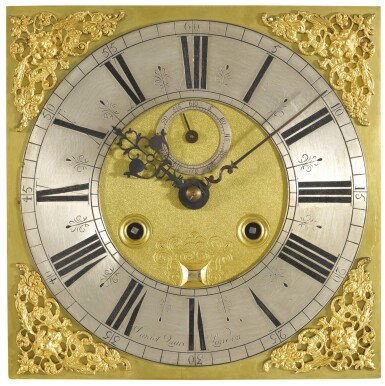 View 2. Thumbnail of Lot 97.  JOSEPH KNIBB | A WALNUT MONTH-GOING LONGCASE CLOCK, LONDON, CIRCA 1675 AND LATER, MOVEMENT AND CASE ASSOCIATED.