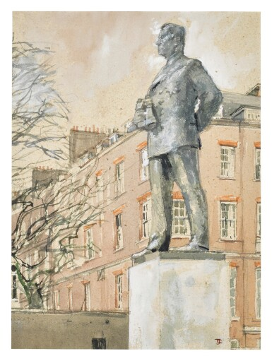 View 1. Thumbnail of Lot 285. The Statue to Commemorate The Earl Mountbatten of Burma.