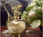 A GEORGE IV SILVER-GILT CLARET JUG, JOHN BRIDGE FOR RUNDELL, BRIDGE AND RUNDELL, LONDON, 1828