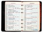 BRIAN EPSTEIN | Address book, 1967