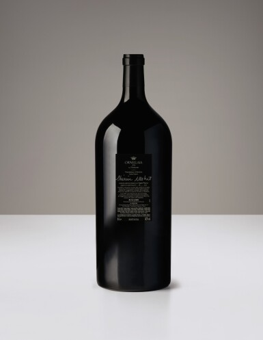 1 IMPERIAL (6L) ORNELLAIA, VENDEMMIA D'ARTISTA, 'LA TENSIONE' BY SHIRIN NESHAT 2016 & DINNER AT RISTORANTE ORNELLAIA IN ZURICH FOR 6