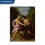 The Meeting of Christ and Saint John the Baptist