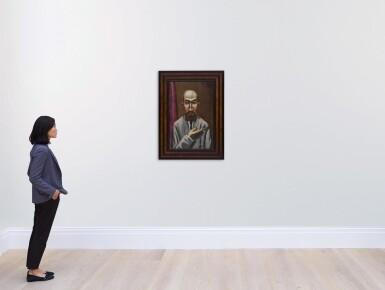View 4. Thumbnail of Lot 54. Bildnis eines Türken (Portrait of a Turk).