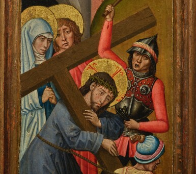 View 7. Thumbnail of Lot 105. Retable with the Lamentation.