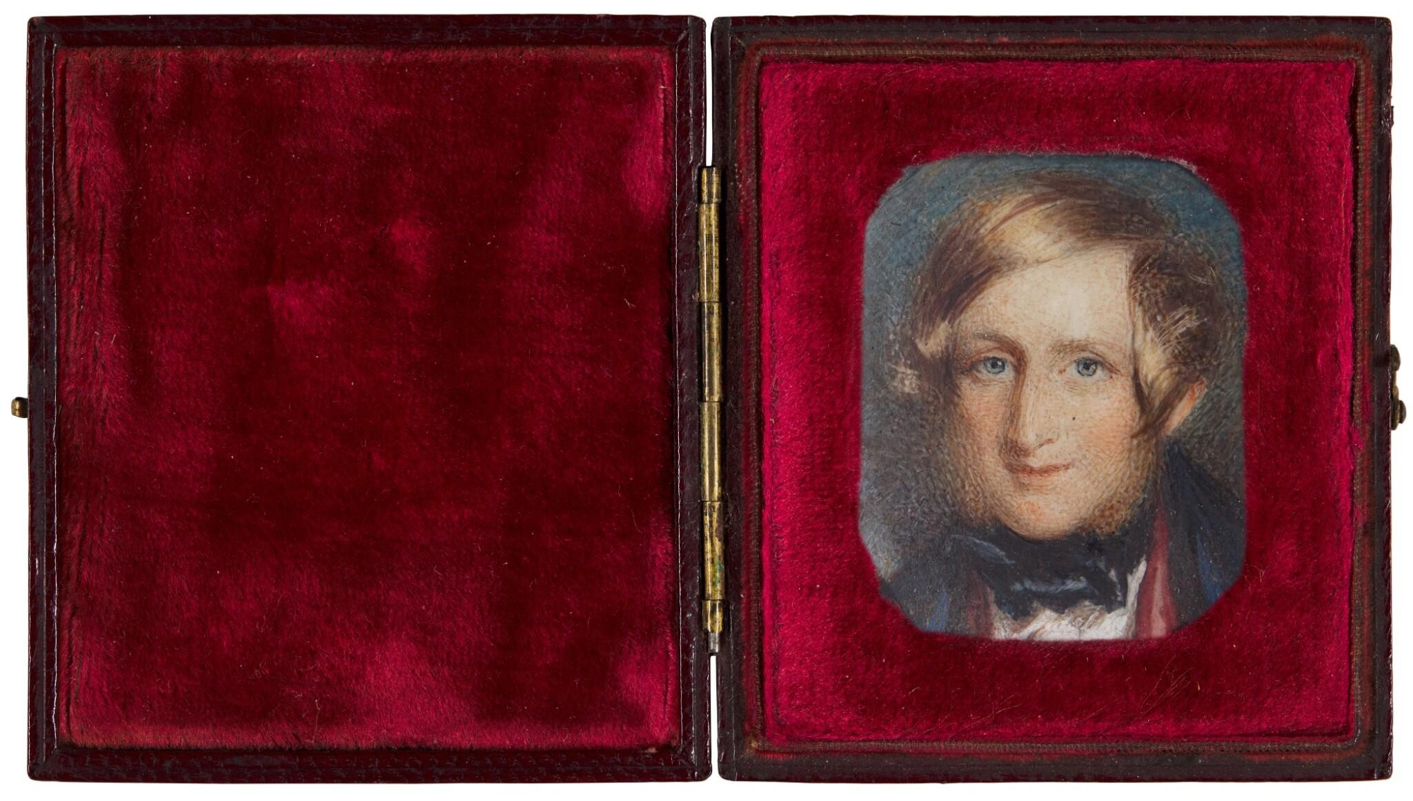 View full screen - View 1 of Lot 210. Portrait of John Ruskin (1819-1900).