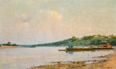 NIKOLAI IVANOVICH OSENEV | On the Oka River