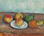 Nature morte: pommes et poires
