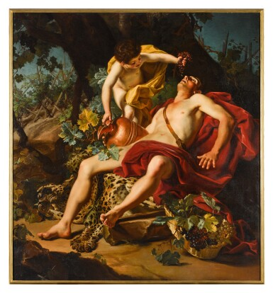 View 2. Thumbnail of Lot 43. Allegory of Autumn.