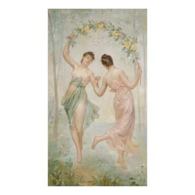 ÉMILE CHARLET | DANCING NYMPHS