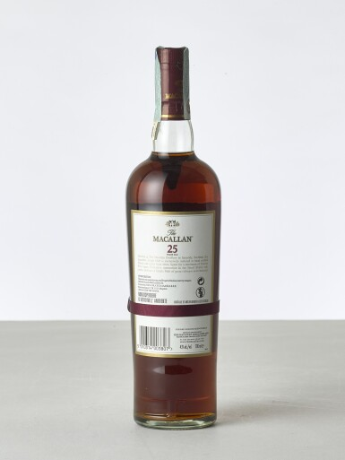 View 2. Thumbnail of Lot 2024. Macallan, 25 Year Old Sherry Cask NV (1 BT70).