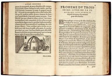 Biringucci, La pyrotechnie, Paris, 1556, later half calf, Acheson copy