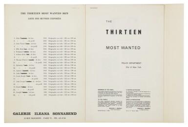 View 3. Thumbnail of Lot 181. The Thirteen Most Wanted Men: No. 11 John Joseph H. (Not in Feldman & Schellmann).