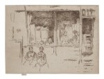 JAMES ABBOTT MCNEILL WHISTLER | MELON-SHOP, HOUNDSDITCH (K. 293; G. 355)