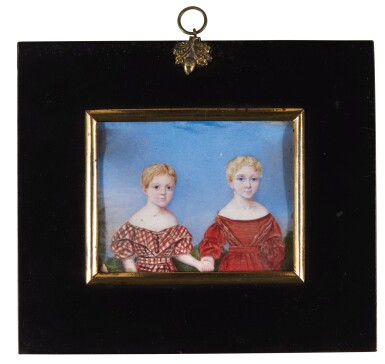 View 2. Thumbnail of Lot 267. Jane Austen's great nieces and nephews; the children of Sir Edward Knatchbull, 9th Bt (1781-1849) and his second wife Fanny, née Knight, formerly Austen (1793-1882).