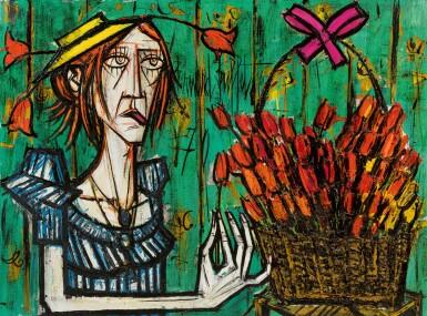 View 1. Thumbnail of Lot 19. Folle et bouquet.
