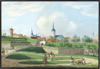 View 2. Thumbnail of Lot 90. Two views in Estonia.