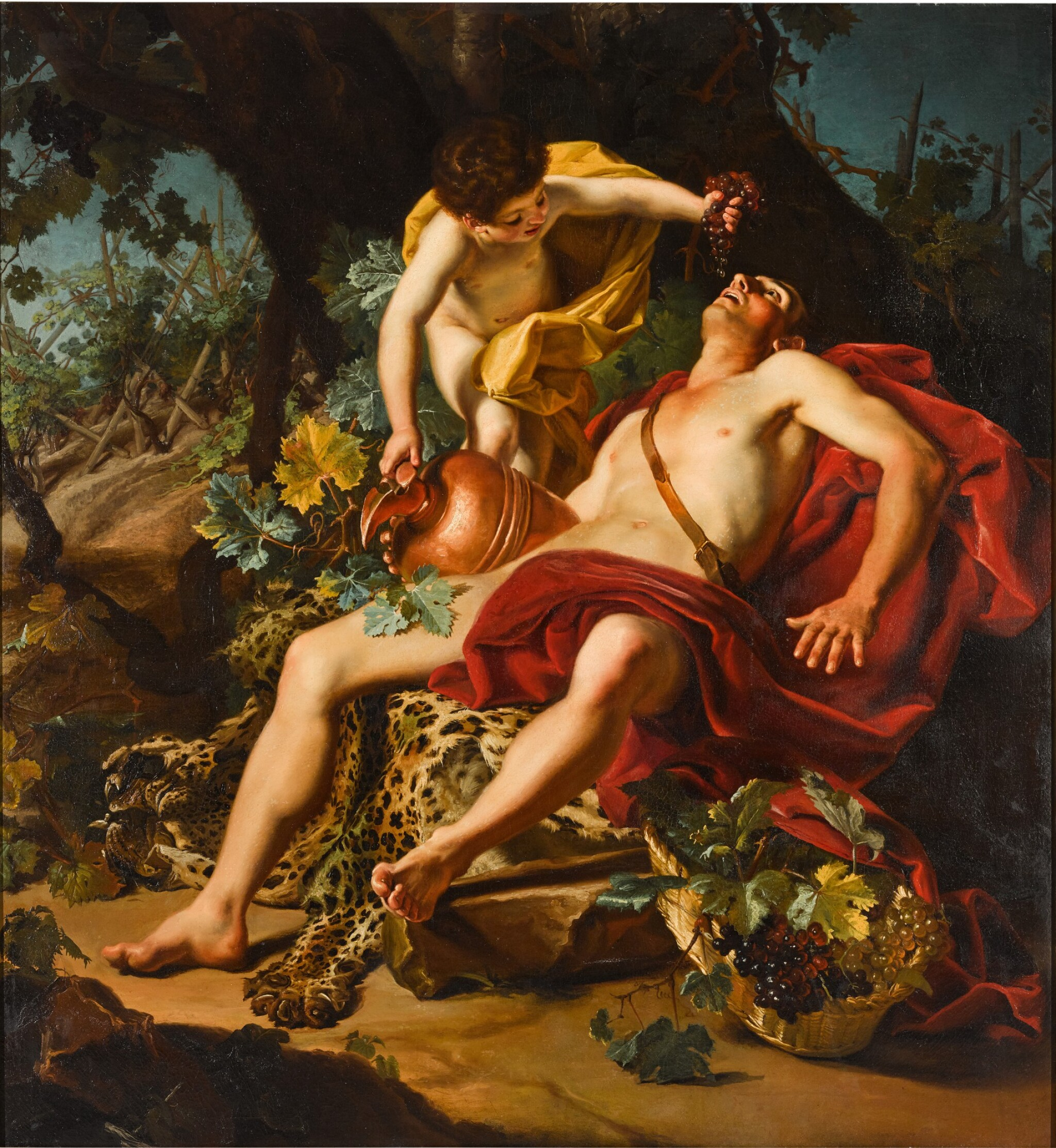 View full screen - View 1 of Lot 43. Allegory of Autumn.