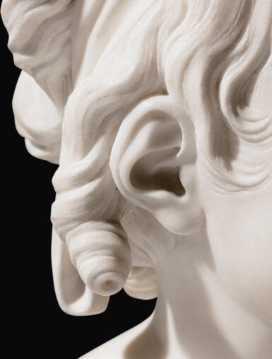 View 6. Thumbnail of Lot 63. Portrait of Constance-Félicité-Victoire-Désirée Vassé, daughter of the artist.