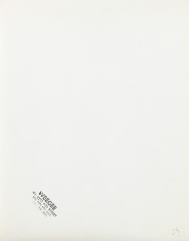 View 3. Thumbnail of Lot 8. Weegee   Andy Warhol Distortion, c. 1965.