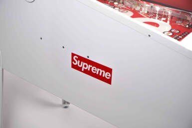 View 10. Thumbnail of Lot 1. SUPREME STERN PINBALL MACHINE.