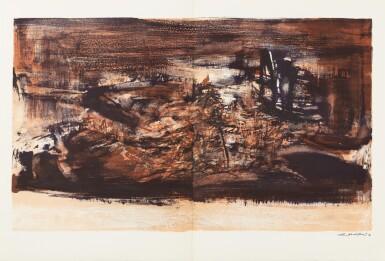 View 13. Thumbnail of Lot 181.  À la gloire de l'image.... Barcelone, 1977. 15 lithographies en couleurs. Edition originale..