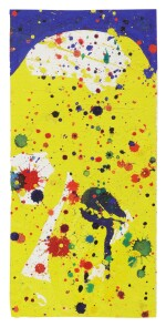 SAM FRANCIS | UNTITLED PASADENA BOX (NO. 67)