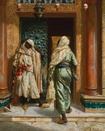 RUDOLF ERNST | THE DOZING GUARD