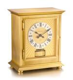 JAEGER-LECOULTRE   ATMOS ROYALE, REFERENCE 5814,  A GILT BRASS ATMOS CLOCK, CIRCA 1970