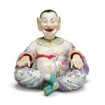 A MEISSEN PORCELAIN FIGURE OF A NODDING PAGODA LATE 19TH CENTURY