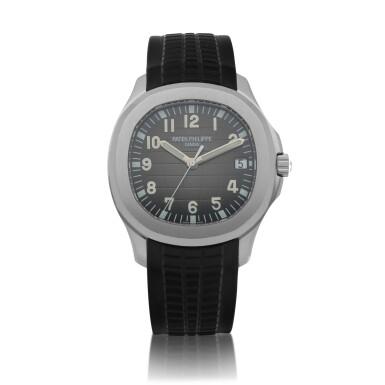 View 1. Thumbnail of Lot 401. Aquanaut, Ref. 5167A Stainless steel wristwatch with date Circa 2018 | 百達翡麗 5167A型號「Aquanaut」精鋼腕錶備日期顯示,年份約2018.