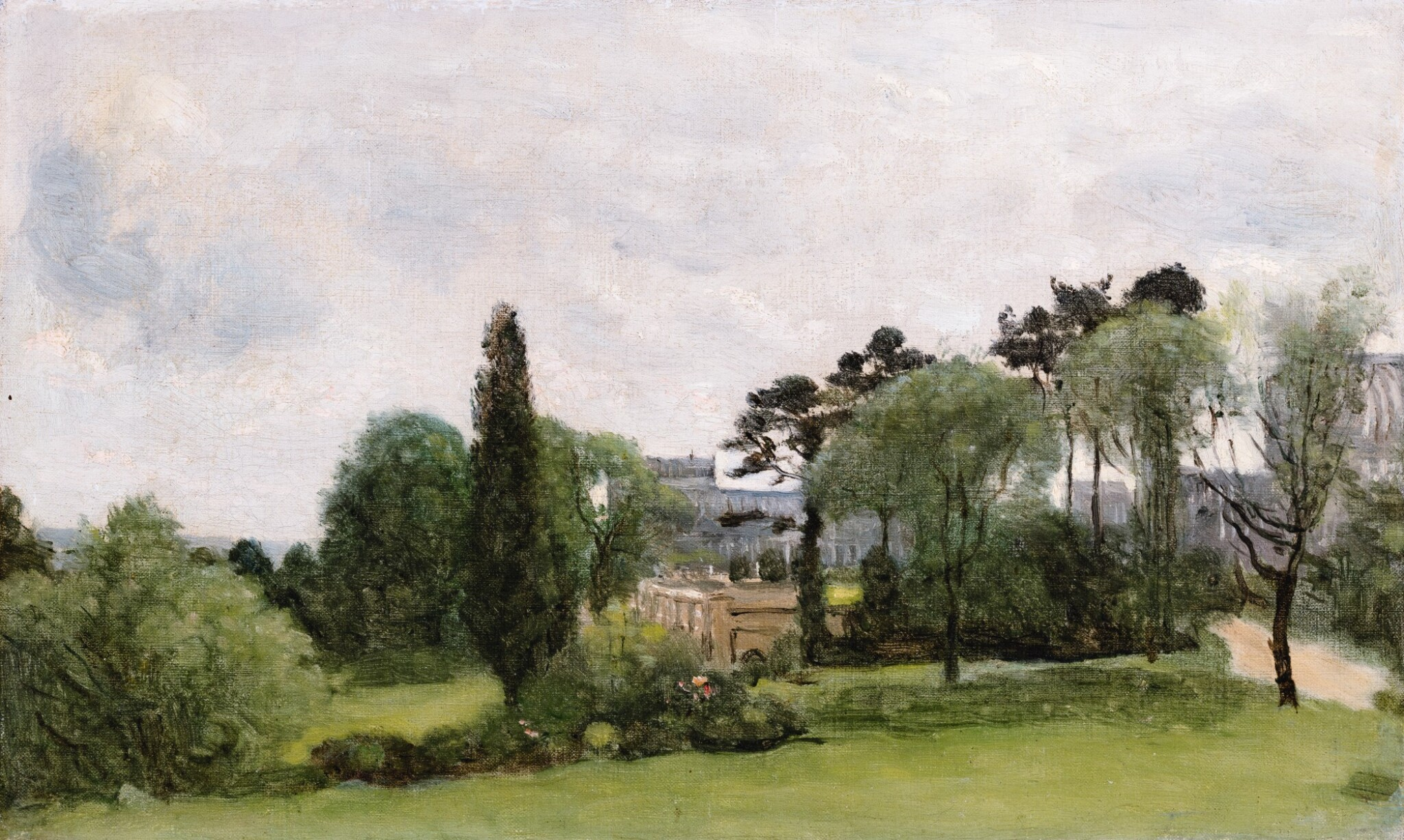 JEAN-BAPTISTE-CAMILLE COROT   THE CRYSTAL PALACE, LONDON