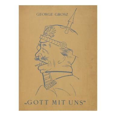 View 10. Thumbnail of Lot 107. GEORGE GROSZ   GOTT MIT UNS (DÜCKERS M III).