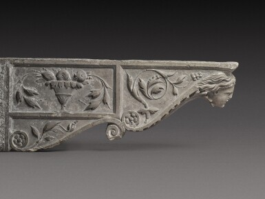 View 4. Thumbnail of Lot 129. Italian, Tuscany, 16th century | Pair of Architectural Brackets.