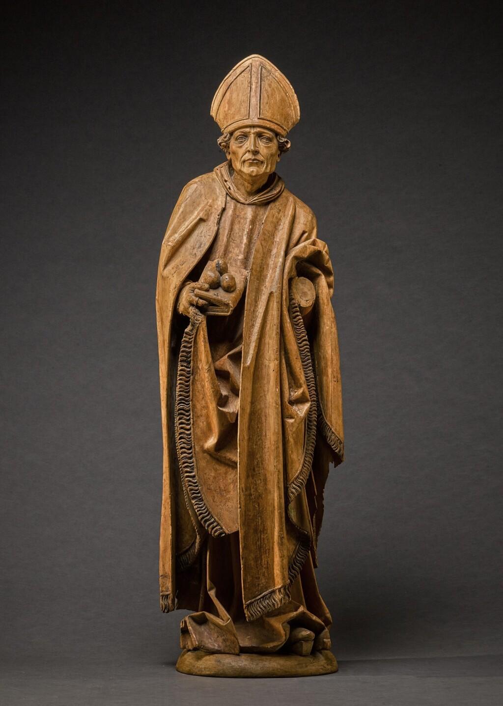 CIRCLE OF TILMAN RIEMENSCHNEIDER (1460-1531) | SAINT NICHOLAS OF MYRA