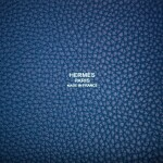 Hermès Deep Blue and Anemone Picotin Lock 18cm of Clemence Leather with Palladium Hardware