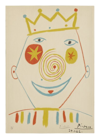 AFTER PABLO PICASSO | LE CLOWN