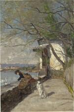 Le repas des cygnes, 1883