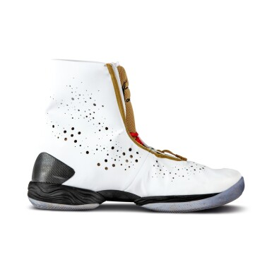 View 5. Thumbnail of Lot 50. Ray Allen Media Day Worn and Signed Air Jordan XXVIII (9/30/2013).