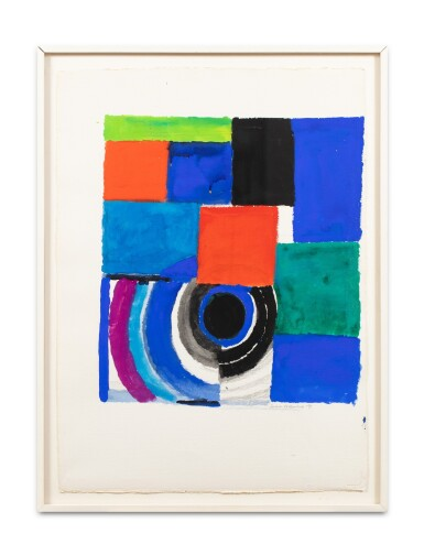 View 2. Thumbnail of Lot 11. SONIA DELAUNAY | RYTHME COULEUR.