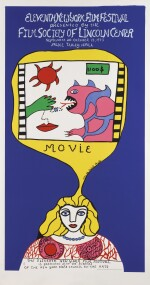 Eleventh New York Film Festival (1973) poster, US