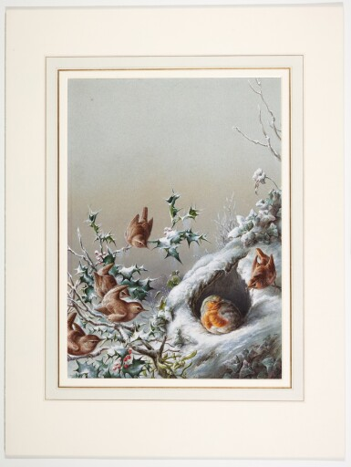 View 5. Thumbnail of Lot 142. In Peacetime; Under Siege; The Stand-off (Robins and Wrens).
