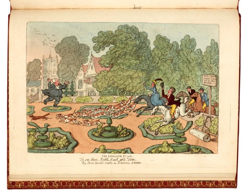 ROWLANDSON, THOMAS | MISERIES OF HUMAN LIFE. LONDON: R. ACKERMANN, 1808 [WATERMARKS 1809 AND 1823]