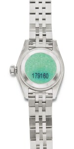 ROLEX | DATEJUST REF 179160, A STAINLESS STEEL AUTOMATIC WRISTWATCH WITH DATE AND BRACELET CIRCA 2005