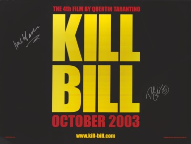 Kill Bill Volume 1 2003 Advance Poster British Signed By Michael Madsen And David Carradine Original Film Posters Online2020 Sotheby S