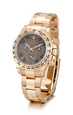 ROLEX     COSMOGRAPH DAYTONA, REFERENCE 116505,  A BRAND NEW PINK GOLD CHRONOGRAPH WRISTWATCH WITH BRACELET, CIRCA 2014